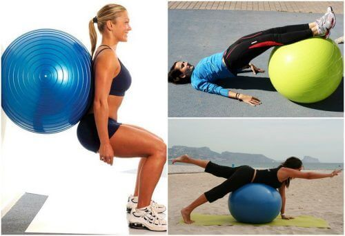 5 fantastiska övningar med träningsboll för rumpmusklerna