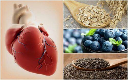 7 livsmedel du borde äta för att skydda hjärtat
