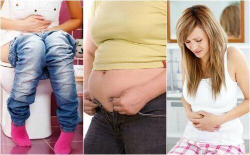 5 matsmältningsproblem som kan orsaka viktuppgång