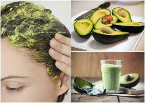 6 fantastiska naturliga kurer med avokado