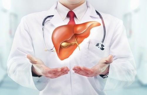 Symptom på leversvikt