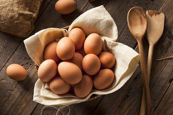 Ägg är nyttigt
