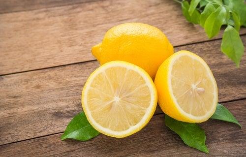 Applicera citron kvällstid