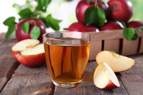 Citron och äppelcidervinäger