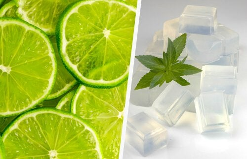 Lime och glycerin