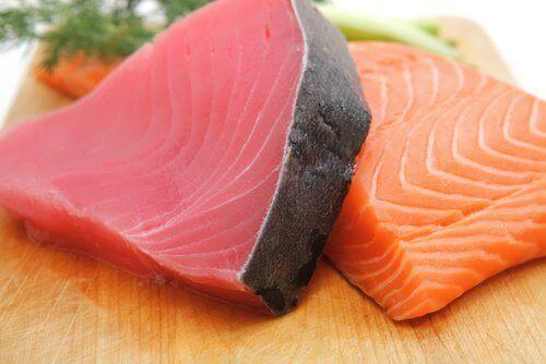 Fet fisk motverkar inflammation