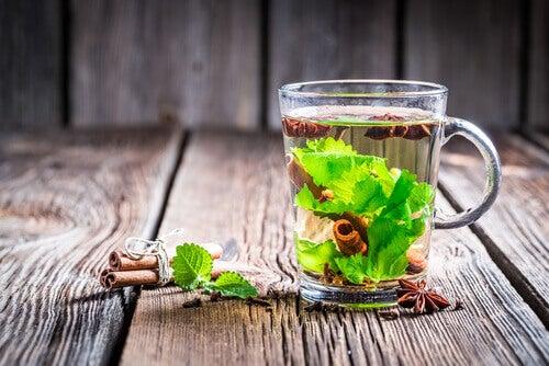 Grönt te med kanel