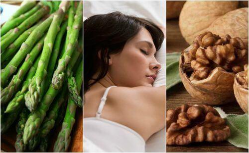 Mat som hjälper dig att sova bättre