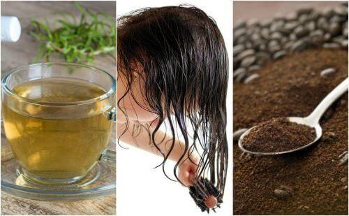 Behandla tidiga grå hår med 4 naturliga kurer
