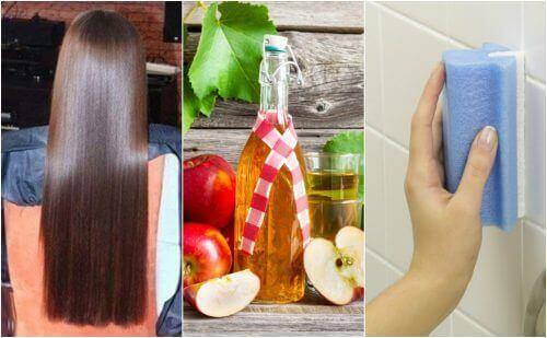 5 ovanliga användningar för äppelcidervinäger