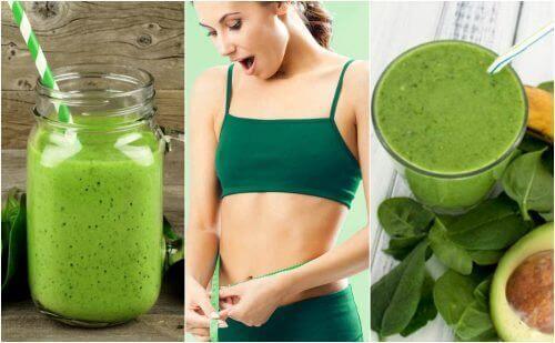 5 spenatsmoothies för viktnedgång