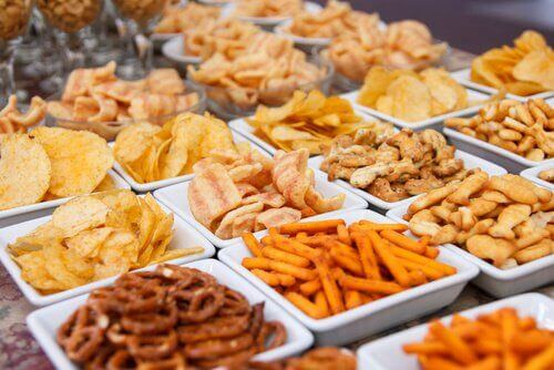 Friterad mat gör dig uppsvälld