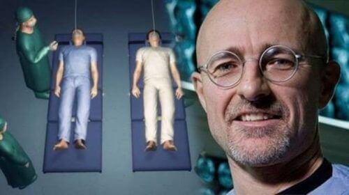 Världens första huvudtransplantation om några månader