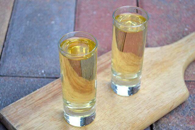 Vattenfyllda glas