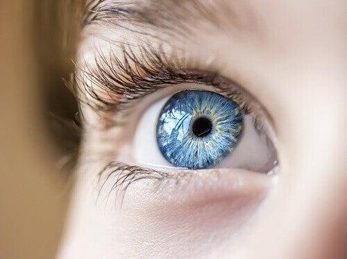 Ett blått öga