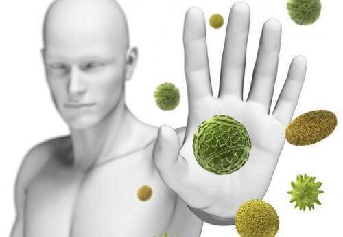 Hand och bakterier