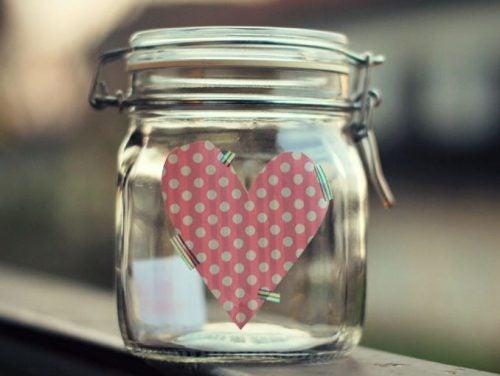 Hjärta i burk