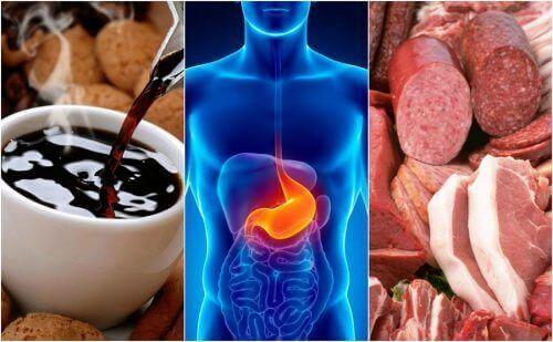 8 livsmedel som orsakar halsbränna