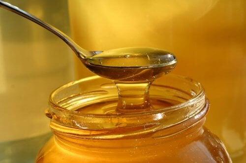 Sked med honung