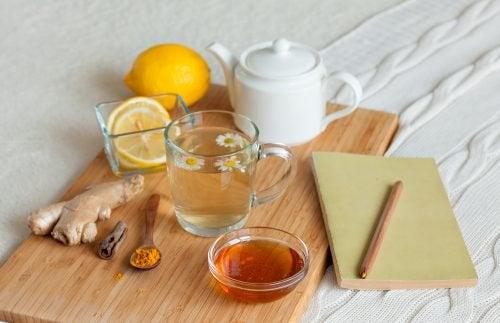Aktivera din metabolism med ett kryddigt te