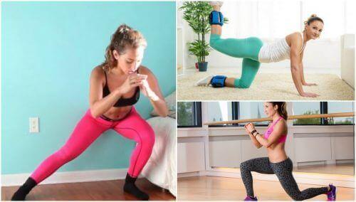 5 enkla övningar för att stärka rumpan hemma