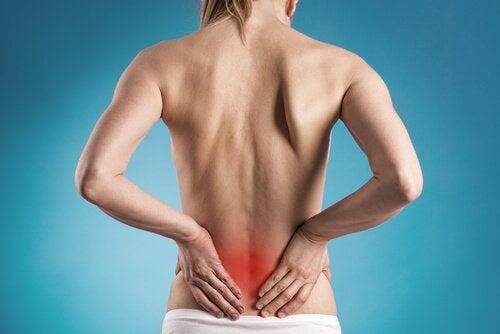 Smärta i ryggslutet