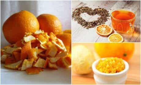 5 alternativa användningar för apelsinskal