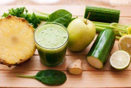 5 smoothies för att avgifta kroppen snabbt