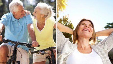 Hur man håller sig i form efter 50 års ålder