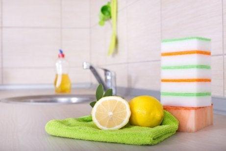 Använd citron som desinficering