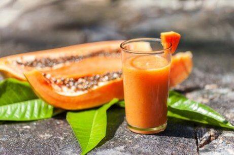 Juice med papaya