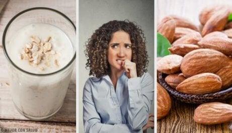 10 livsmedel som lugnar ångest naturligt