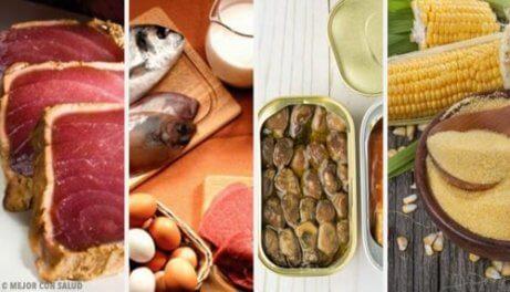 Vilka är de 6 livsmedlen med mest gifter?