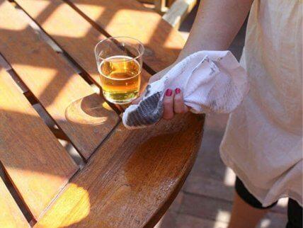 Använda öl i hemmet