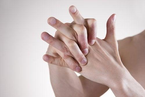 Stretcha händerna
