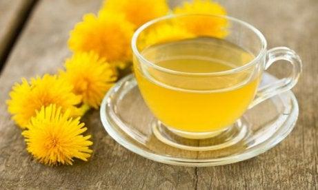 Te på medicinalväxter