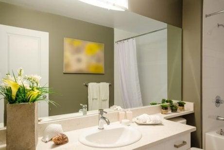 9 fantastiska idéer för att dekorera badrummet