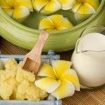 Banan och blommor
