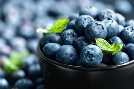 Blåbär är ett bland många antiinflammatoriska livsmedel