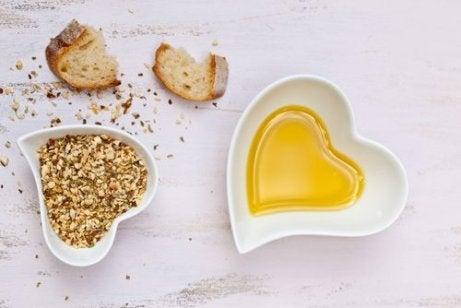 Bröd och olja