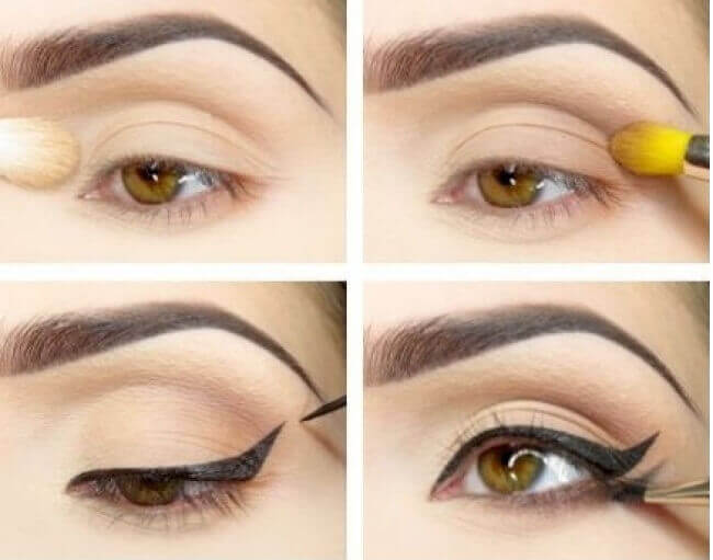 Dubbel eyeliner