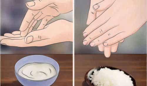 Fyra naturliga huskurer för lena händer