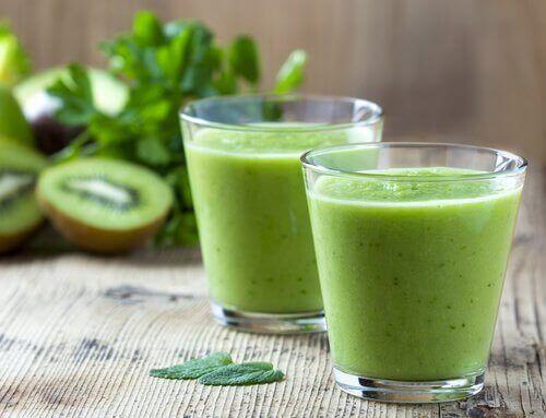 Juice på kiwi