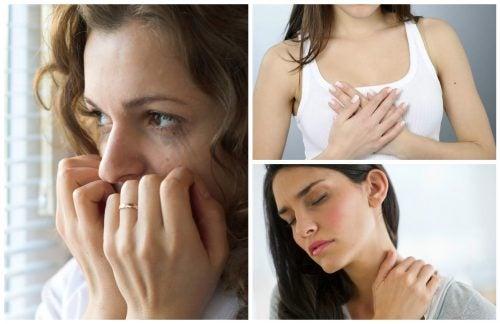10 fysiska tecken på ångestproblem