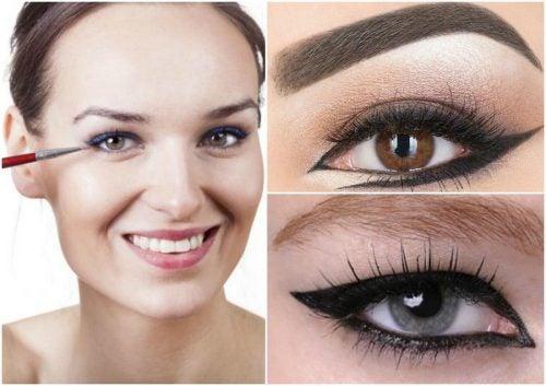 6 olika avundsvärda idéer för eyeliner