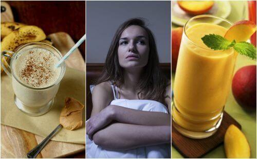 5 goda smoothies för att naturligt motverka insomnia