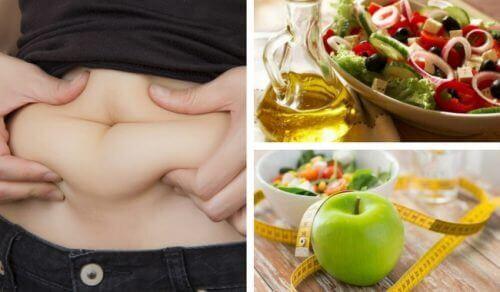 Mage och nyttig mat
