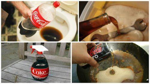 Lär dig om dessa 8 intressanta användningar för coca-cola