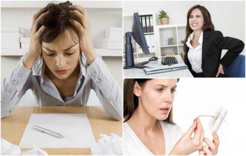 7 symptom på stress som du inte bör ignorera