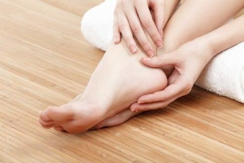Vaselin för fötterna